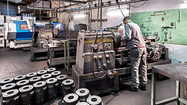 Fabrication moule de verrerie