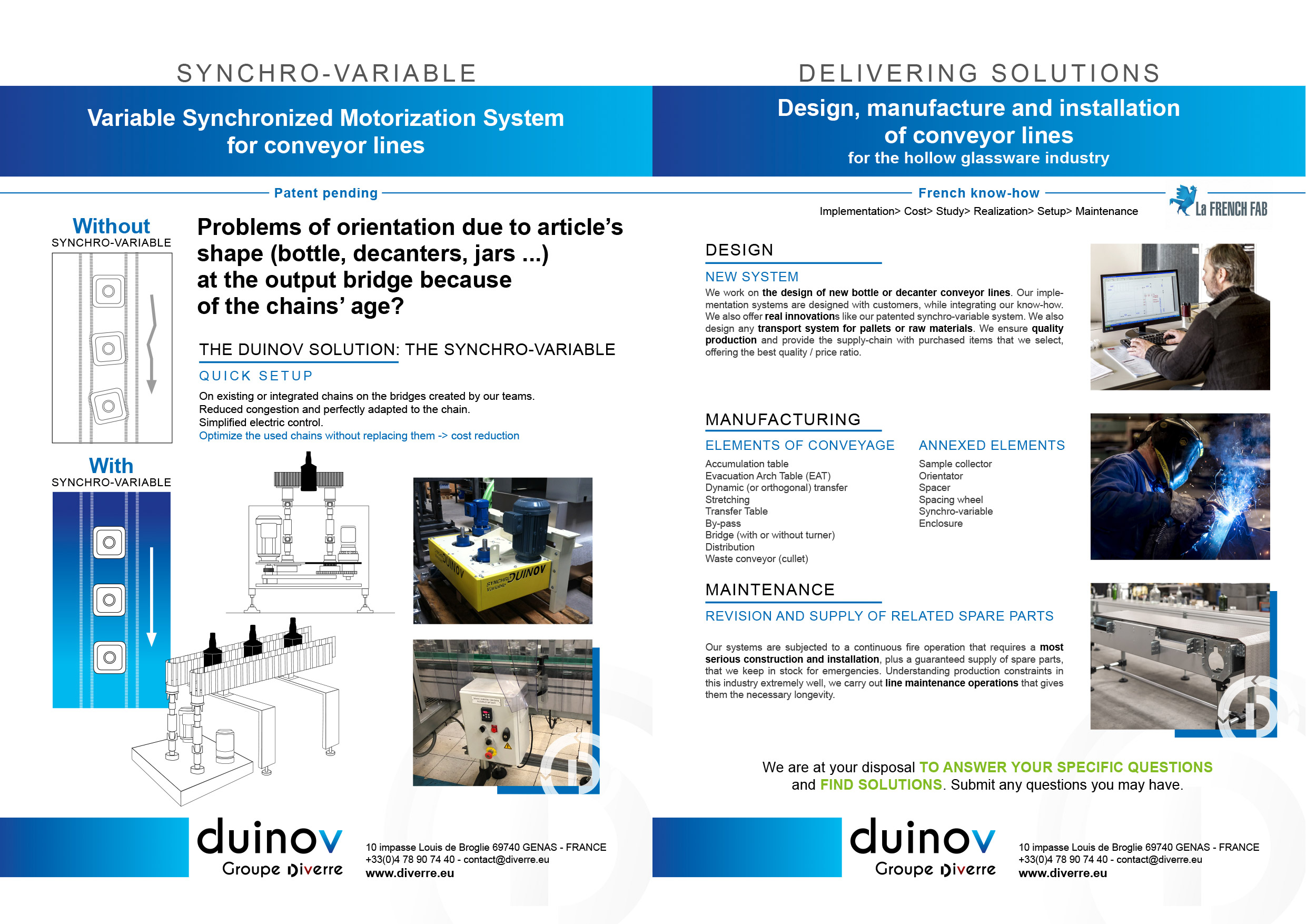 THE DUINOV SOLUTION: THE SYNCHRO-VARIABLE